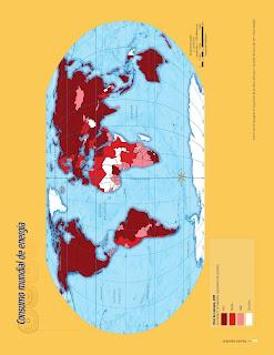 Apoyo Primaria Atlas de Geografía del Mundo 5to. Grado Capítulo 4 Lección 2 Consumo Mundial de Energía