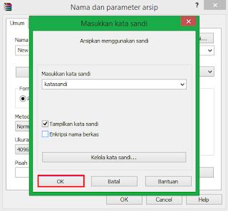 Cara Memberi Password di Winrar Simple dan Cepat 13