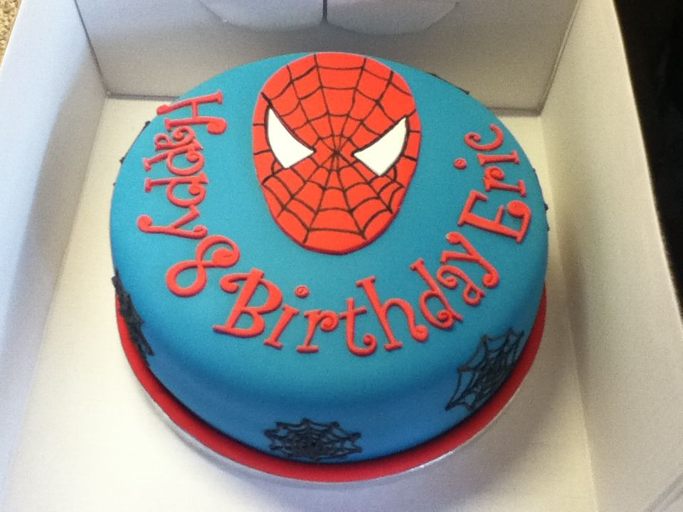Margaret Blog Spider Man Cake