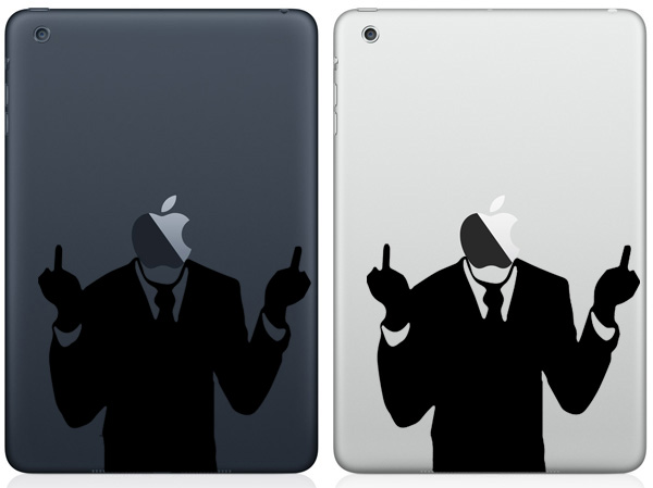 F off iPad Mini Decals