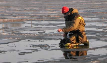 Рыбалка в апреле по последнему льду