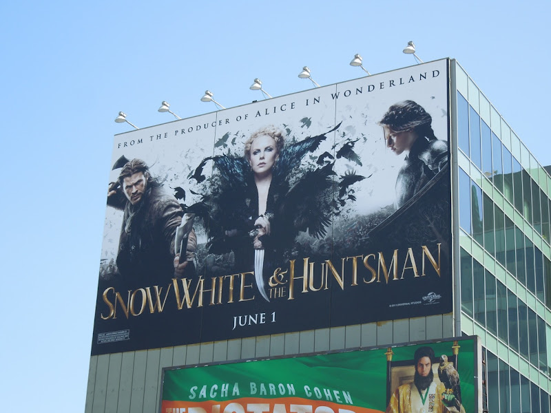 Snow White and Huntsman movie billboard