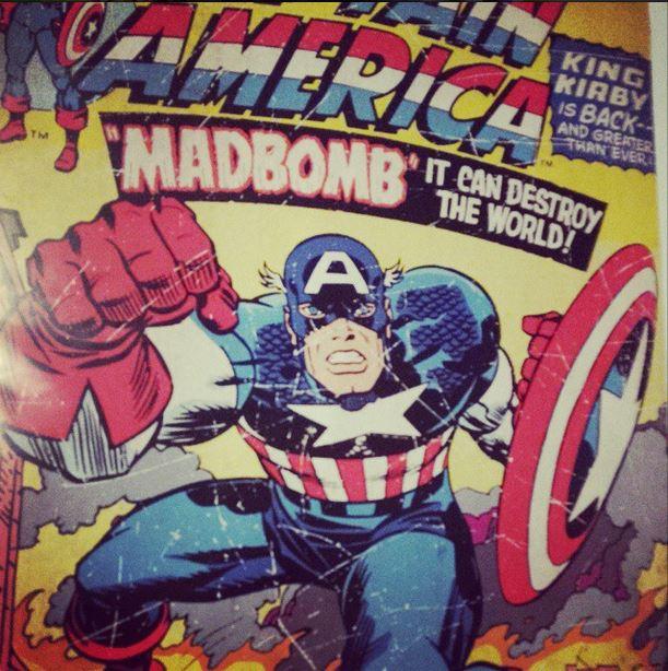 poster captaine america