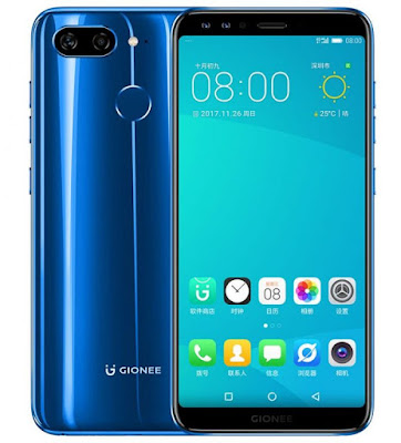 Gionee launches eight bezel-less smartphones : Full Specifications, Pricing & Availability 2