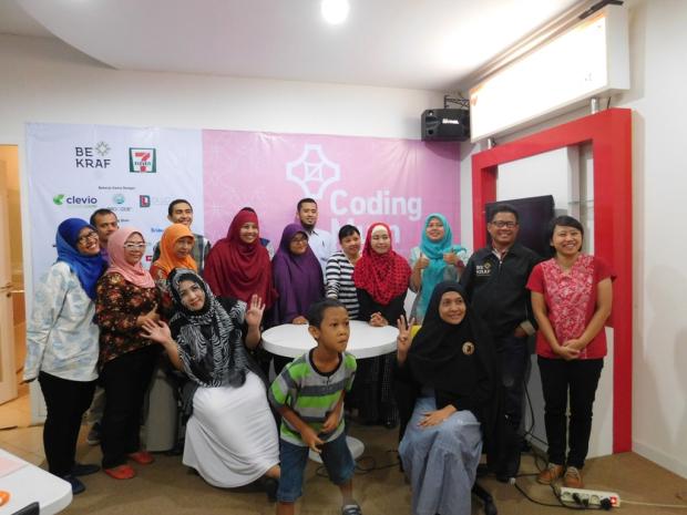 Jurnal Coding Mum Surabaya Batch 1 Yang Saya Ikuti Tahun 2016