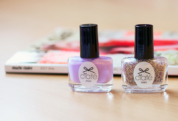 NOTD | Ciate Caviar Polish by Marie Claire
