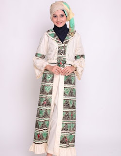 Model Baju Gamis Batik Wanita Muslimah
