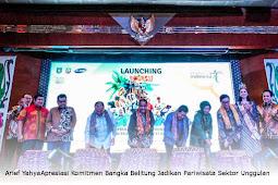 Arief Yahya Apresiasi Komitmen Bangka Belitung Jadikan Pariwisata Sektor Unggulan