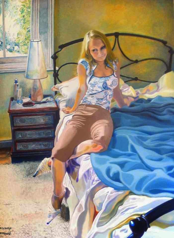 Британская художница. Francesca Learmount