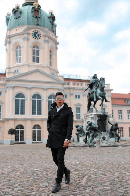 Leo Chan at Charlottenburg Palace