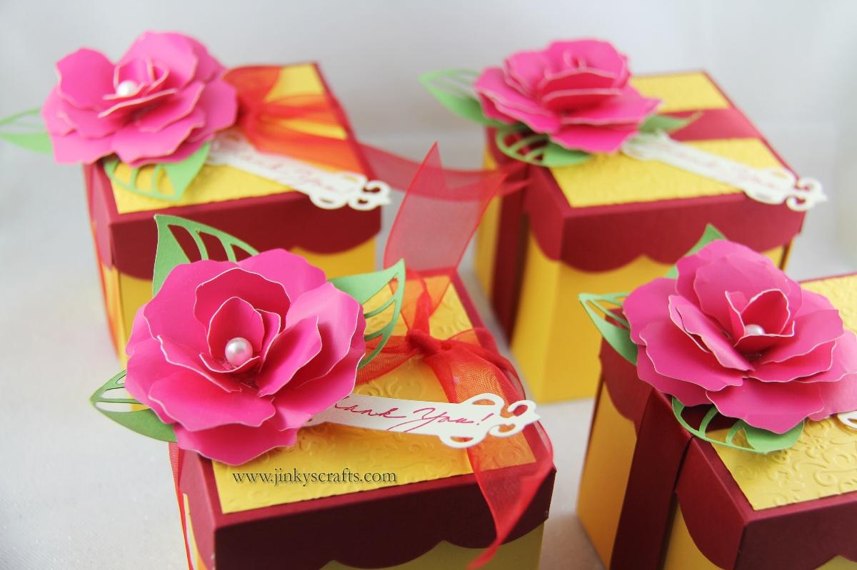 jinky 39 s crafts designs 3d paper flower embellishments. Black Bedroom Furniture Sets. Home Design Ideas