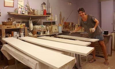 pinturas para muebles blancos