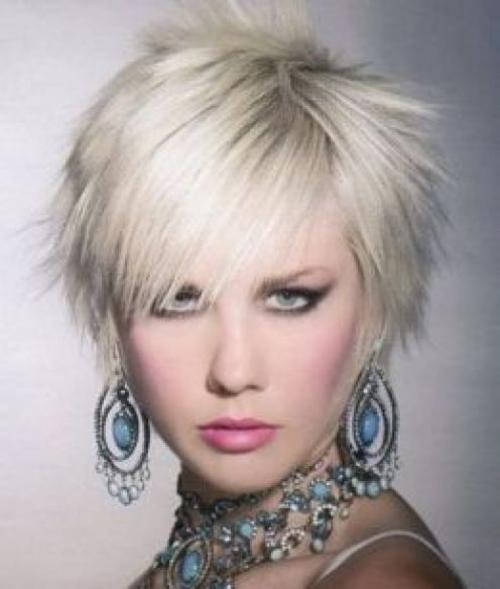Karine Vanasse Short Spiky Hairstyles For Women