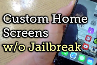 How to Customize iPhone Home screen without Jailbreak