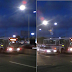 Ônibus e carro colidiram na pista local da rodovia BR-101 em frente ao Carrefour