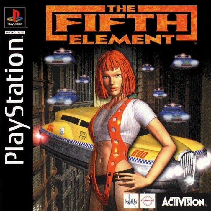 The Fifth Element  - PS1 - ISOs Download