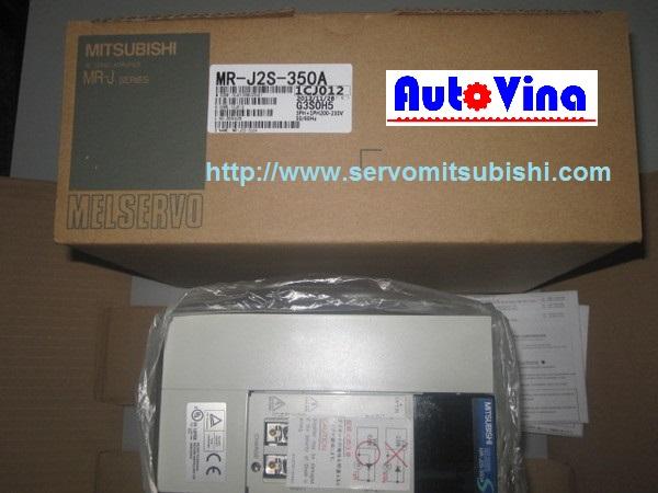 Nhà phân phối thiết bị tự động hóa Mitsubishi Drive Amplifier MelServo Mitsubishi 3500W MR-J2S-350A