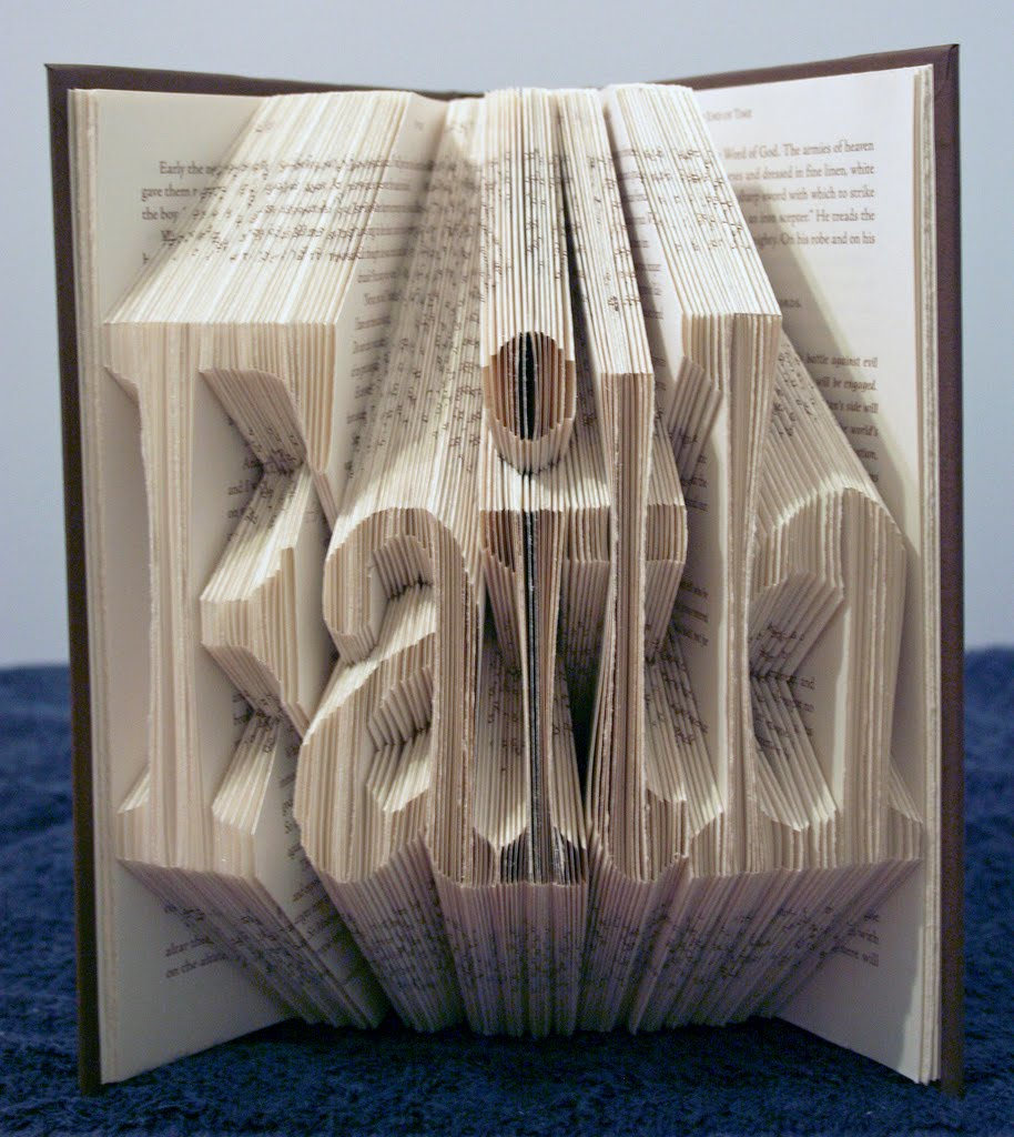 simply creative the folded book art by isaac g salazar. Black Bedroom Furniture Sets. Home Design Ideas