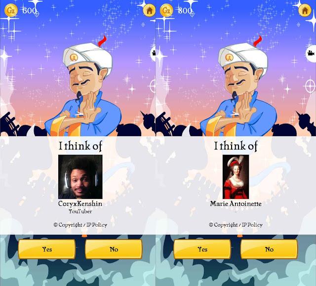 Kamu mau pikiran kau diramal oleh sebuah aplikasi dengan sempurna Aplikasi Peramal Pikiranmu!! - Cheat Akinator Android