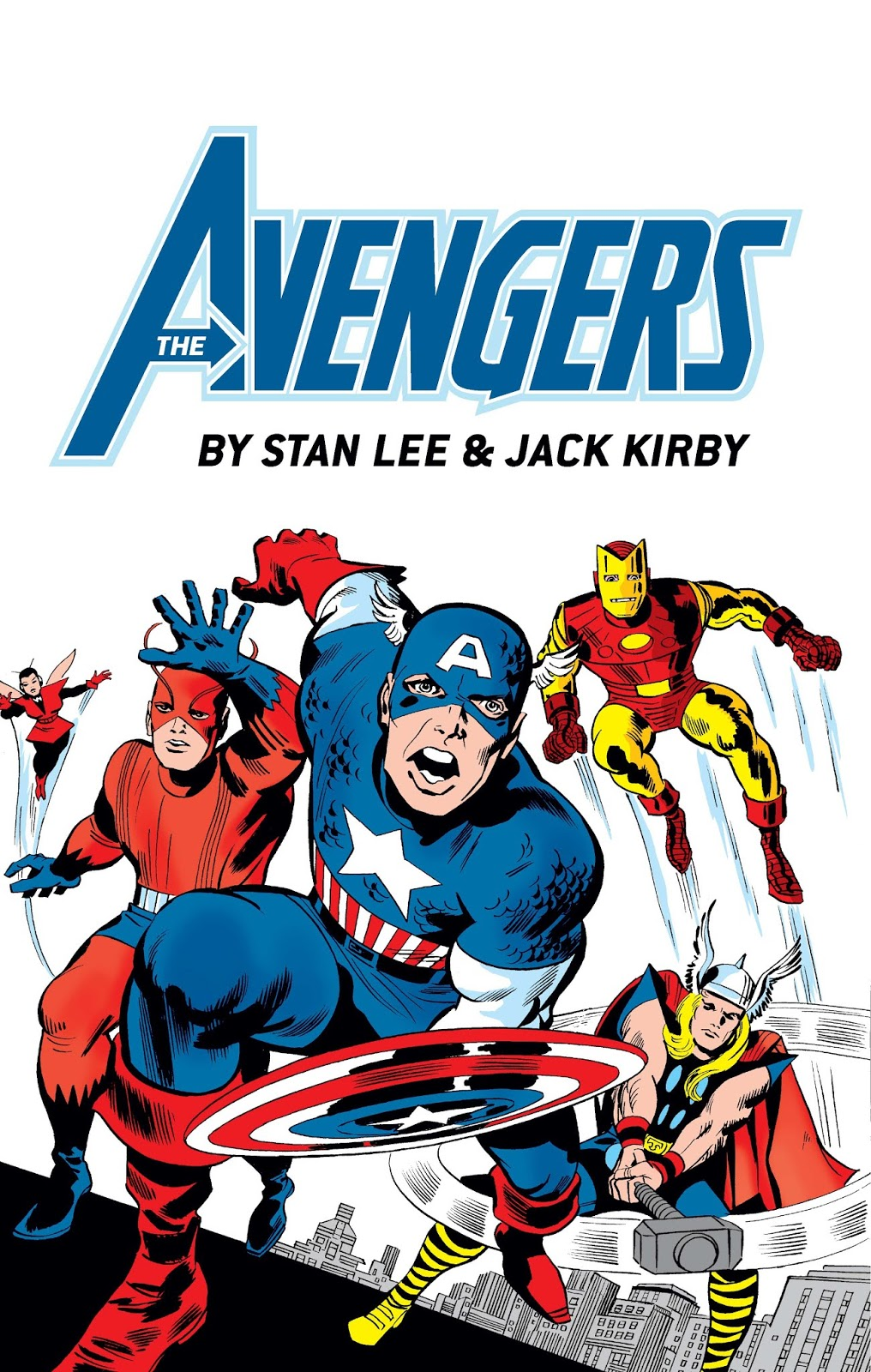 AVENGERS BY LEE & KIRBY