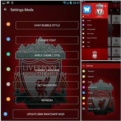 Download BBM Tema Liverpool