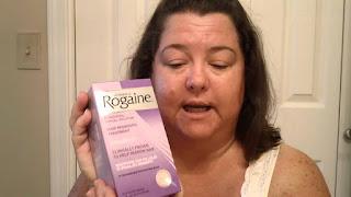 Rogaine Minoxidil 2% 60ml 3 meses tratamento para mulheres
