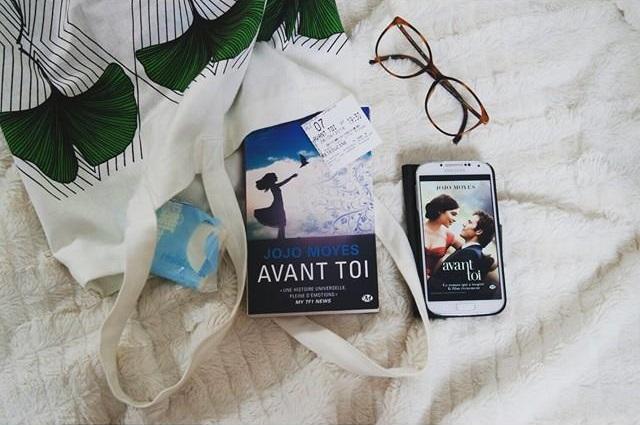 Avant toi Jojo Moyes roman et film Blog Coin des licornes littéraire lifestyle Toulouse
