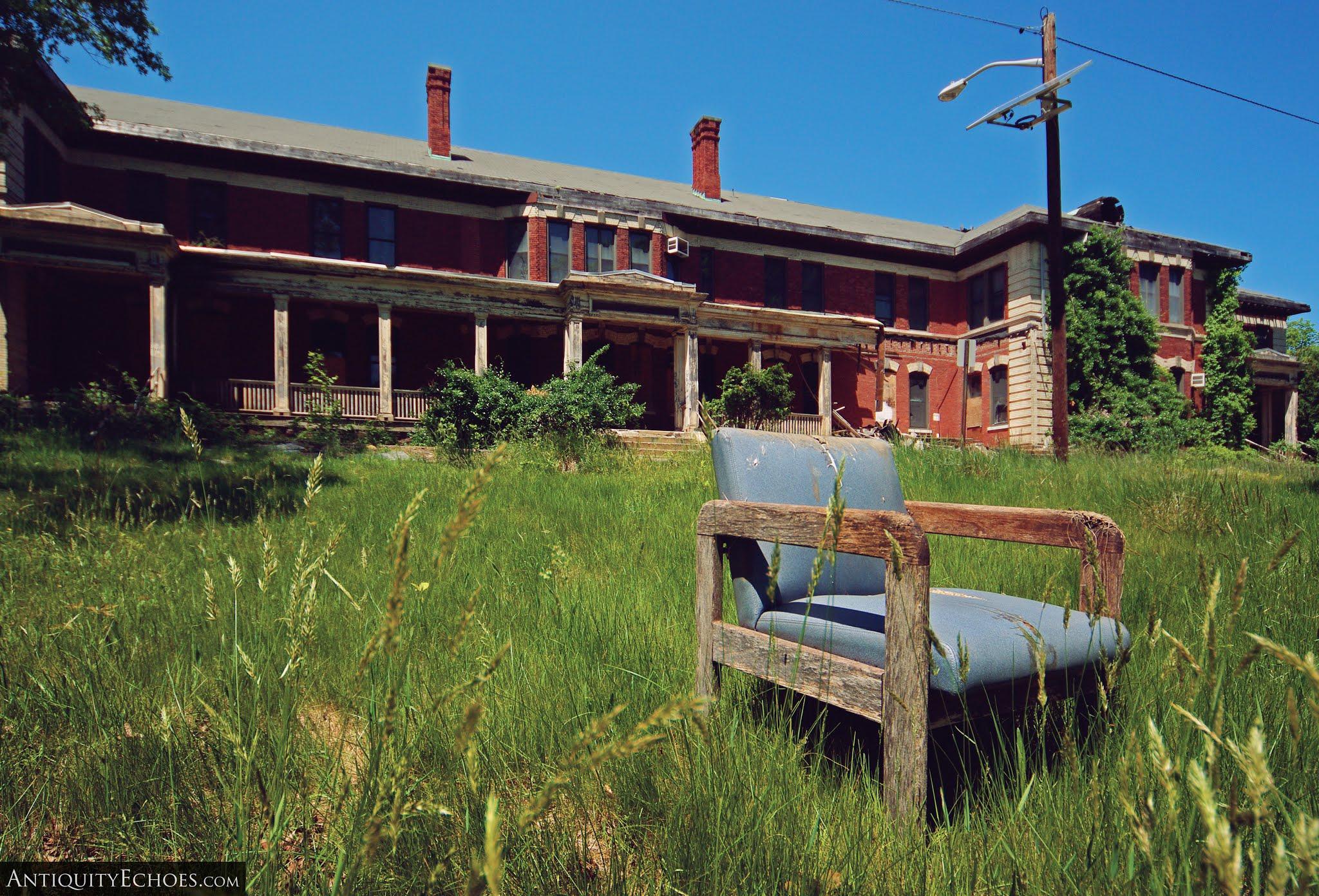 Overbrook Asylum - Indoor Furniture Turned Outdoor