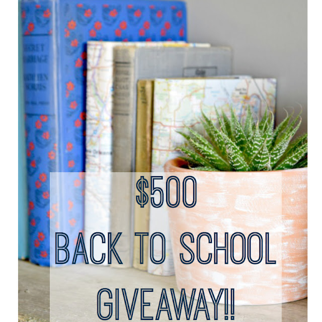 $500 Back to School Instagram Giveaway with One Mile Home Style