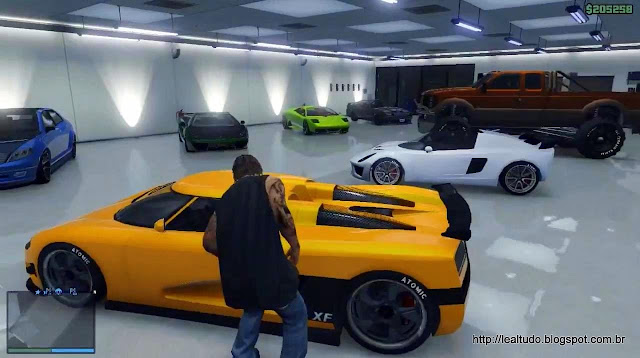 Grand Theft Auto Online Buy Garage Custom Cars - Garagem de Carros Tunados