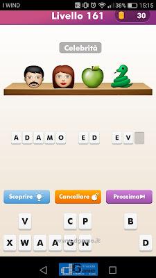 Emoji Quiz soluzione livello 161