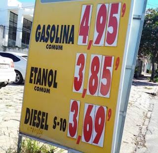 Gasolina em Conquista