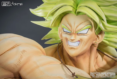 "Broly HQS+ 1/4 de ""Dragon Ball Z"" - Tsume Art"