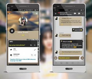BBM MOD Aksara V3.0.0.18 Apk Not Clone