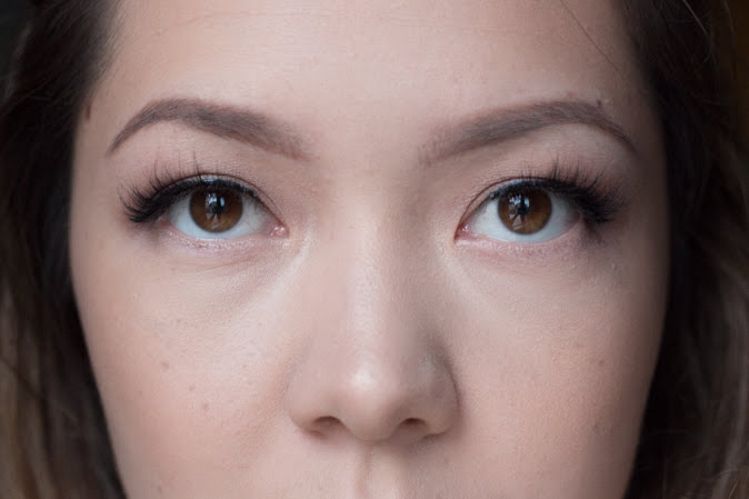 Wearing Velour Mink Lashes in Serendipity