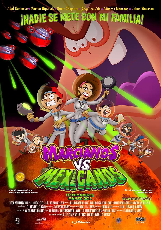 Marcianos Vs. Mexicanos (2018)