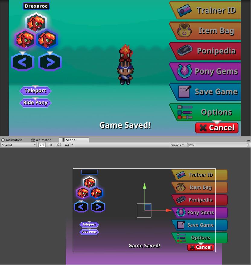 Yotes Games: Battle Gem Ponies DevLog #168 (HUD Crafting)