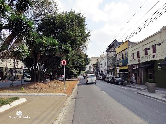 Vista ampla de parte da Rua do Gasômetro - Brás - São Paulo