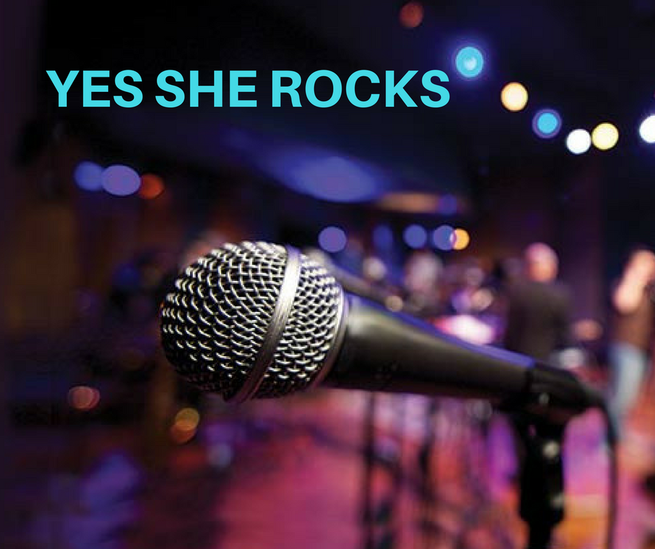 YES SHE ROCKS RADIO!