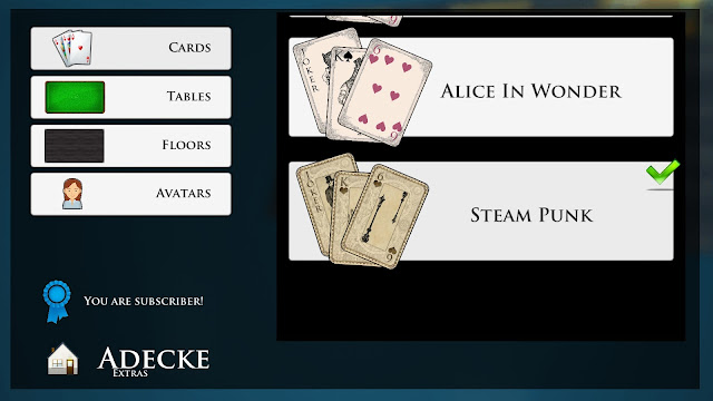 Screenshot from Adecke - Cards Games Deluxe
