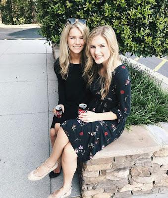 Katie Bates and Josie Bates