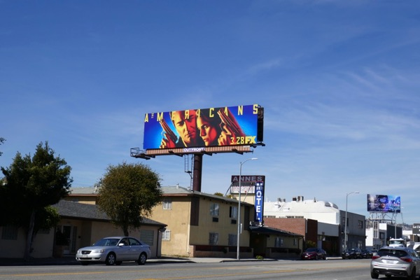 Americans season 6 billboard