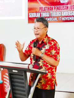 STTAM Gelar Pelatihan Penulisan Jurnal Ilmiah, Guna Tingkatkan Kompetisi Dosen dan Mahasiswa