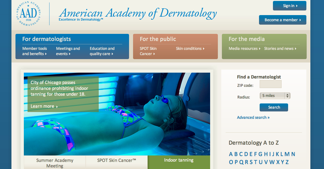 Best Websites 2012: Dermatology | Indianapolis Web Design
