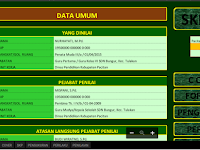 Aplikasi SKP Guru Terbaru Sesuai BKN 2017/2018