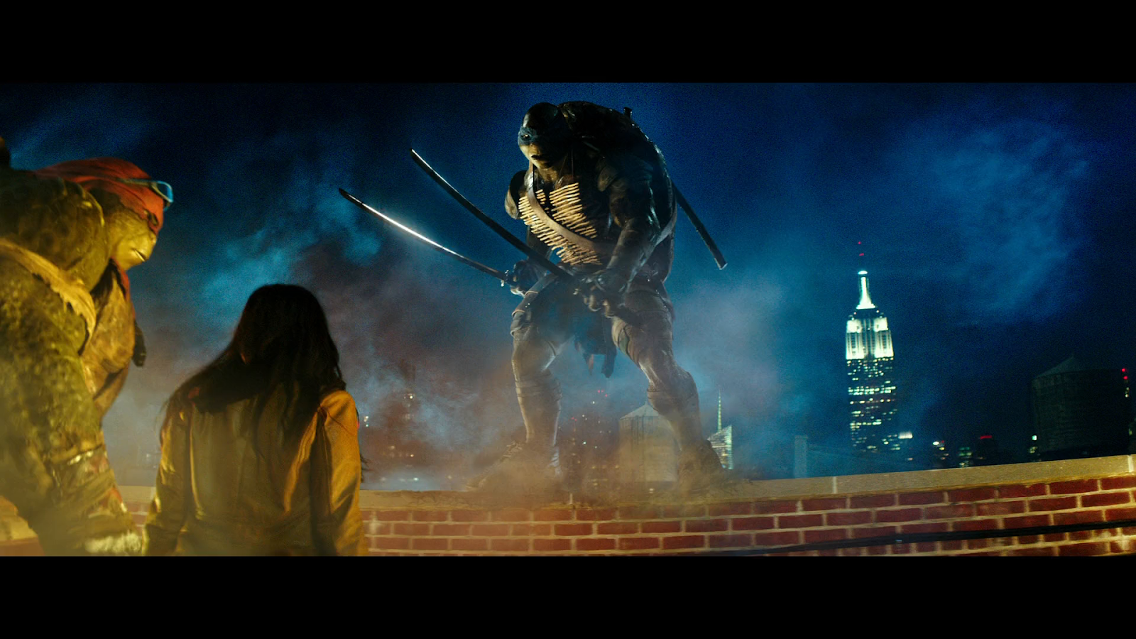Tortugas Ninja (2014) BRRip Full HD 1080p Latino-Castellano-Ingles captura 2