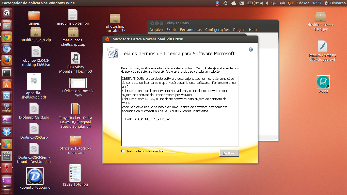 Como instalar o Microsoft Office 2010 no Linux - Tutorial