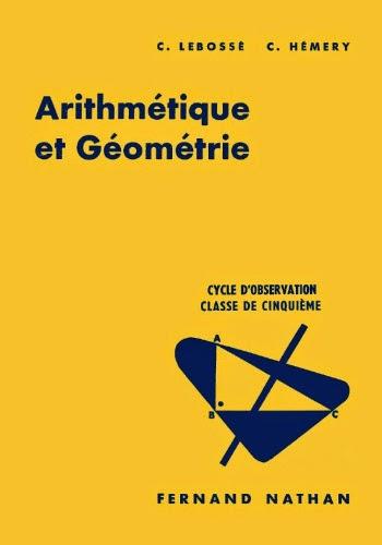 Arithmétique et Géométrie. Classe de Cinquième