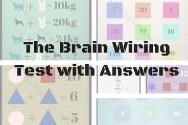 the brain wiring test for kids teens and adults with answers fun rh funwithpuzzles com Brain Wiring Connections MSH Brain Wiring Diagram