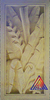 Relief pisang pisangan